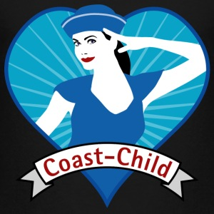 coast_child_heart_04201505 T-Shirts - Teenager Premium T-Shirt