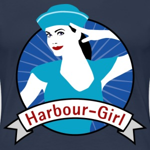 harbour_girl_04201504 T-Shirts - Frauen Premium T-Shirt