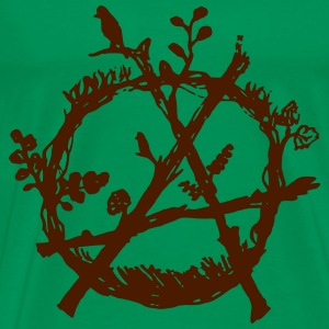 green anarchy eco Tee shirts - T-shirt Premium Homme