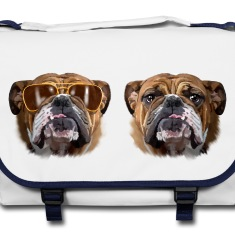 Borse zaini bulldog inglese spreadshirt for Testardo in inglese