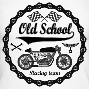Old School Racing Team - T-shirt baseball manches longues Homme
