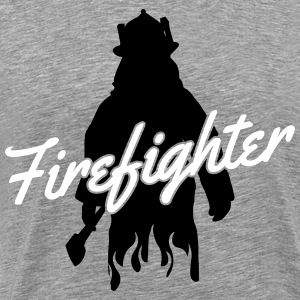 Firefighter T-shirts - Herre premium T-shirt