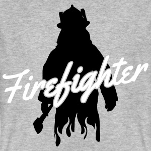 Firefighter T-shirts - Mannen Bio-T-shirt