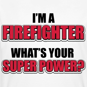 I'm a firefighter. What's your superpower T-shirts - Mannen Bio-T-shirt