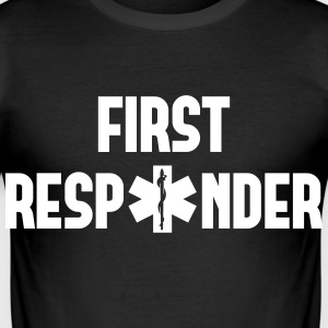 first responder T-Shirts - Men's Slim Fit T-Shirt
