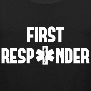 first responder Tank Tops - Men's Premium Tank Top