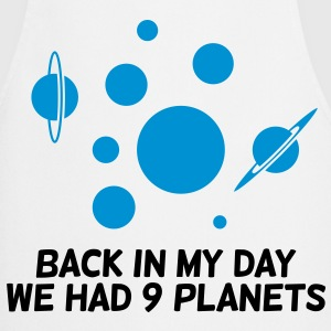 Back then we had 9 planets!  Aprons - Cooking Apron