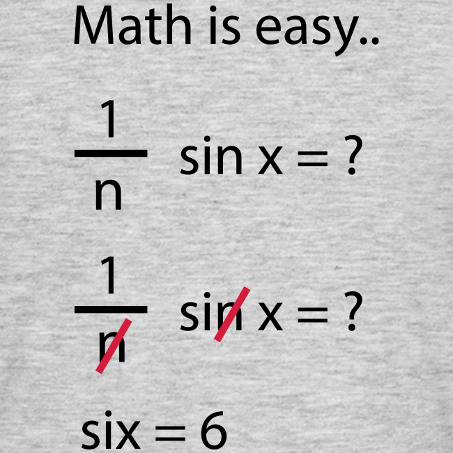 Math is easy