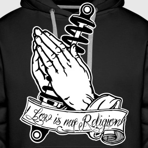 Praying Hands coilovers Pullover & Hoodies - Männer Premium Hoodie