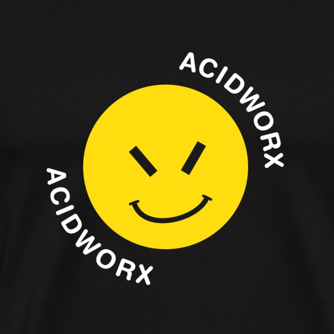 Acid Worx Curved Text Design