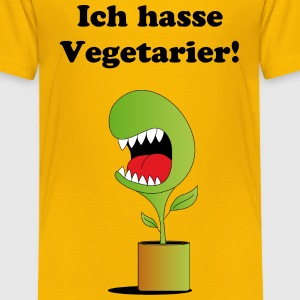 Vegetarier - Kinder Premium T-Shirt