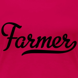Farmer T-Shirts - Frauen Premium T-Shirt
