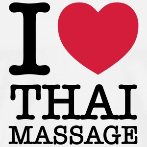 I (Heart) Thai Massage Tee shirts - T-shirt Premium Homme