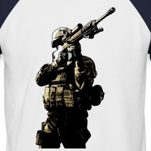 infantryman by DK Tee shirts - T-shirt baseball manches courtes Homme
