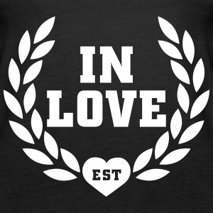in love est Tops - Frauen Premium Tank Top