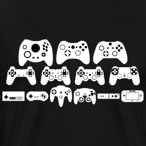 Gamepad Evolution - Men's Premium T-Shirt