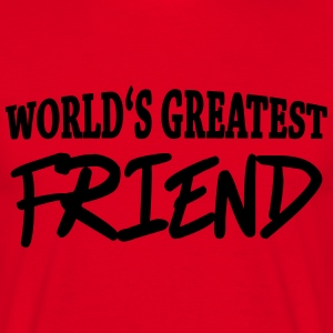 World's greatest friend T-skjorter - T-skjorte for menn