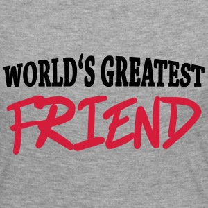 World's greatest friend Long Sleeve Shirts - Women's Premium Longsleeve Shirt