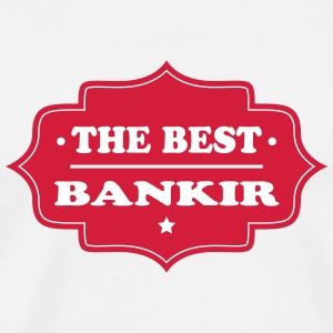The best bankir 111 T-shirts - Herre premium T-shirt