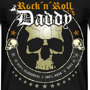 Rock ´n´ Roll Daddy - Männer T-Shirt
