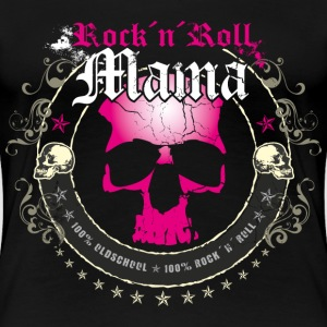 Rock ´n´ Roll Mama - Frauen Premium T-Shirt
