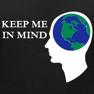 Earth - Keep me in Mind T-Shirts - Women's V-Neck T-Shirt