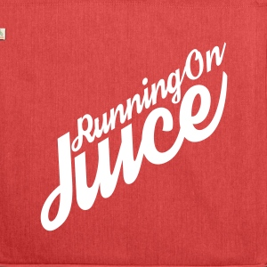 Running on Juice Bag - Shoulder Bag made from recycled material