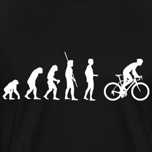 Evolution bike saddle T-Shirts - Men's Premium T-Shirt