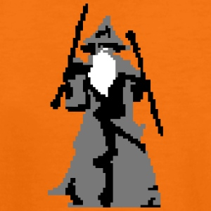 gandalf pixelart Shirts - Teenage Premium T-Shirt