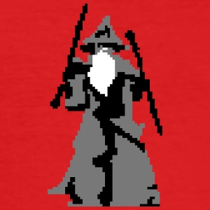 gandalf pixelart T-shirts - slim fit T-shirt