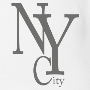 New York City Shirts - Organic Short-sleeved Baby Bodysuit