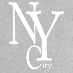 New York City blanc Camisetas - Camiseta bebé