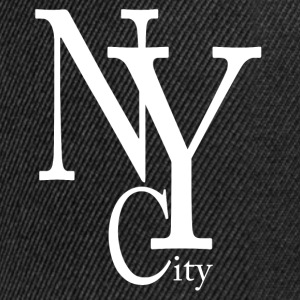 New York City blanc Caps & Hats - Snapback Cap