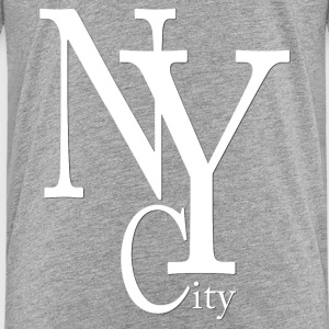 New York City blanc2 Camisetas - Camiseta premium adolescente