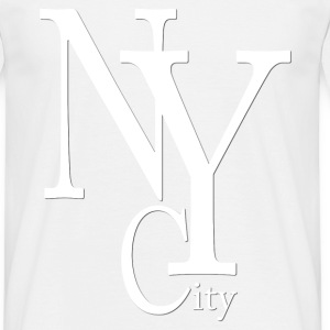 New York City blanc2 T-Shirts - Men's T-Shirt
