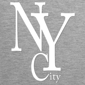New York City blanc2 Tank Tops - Men's Premium Tank Top