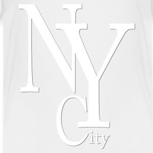 New York City blanc2 Tee shirts - T-shirt Premium Ado