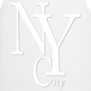 New York City blanc2  Aprons - Cooking Apron