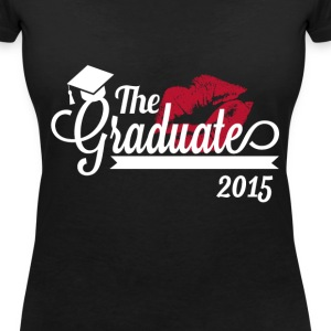 the graduate 2015 T-Shirts - Women's V-Neck T-Shirt