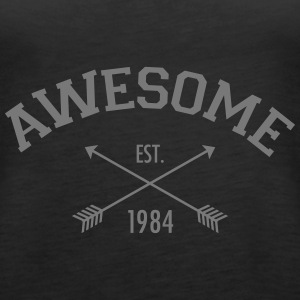 Awesome Est 1984 Top - Canotta premium da donna