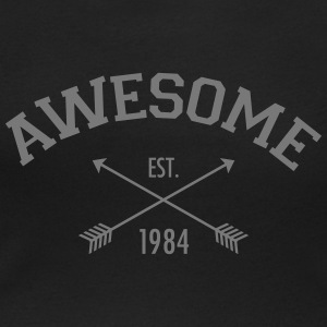 Awesome Est 1984 T-Shirts - Women's Scoop Neck T-Shirt