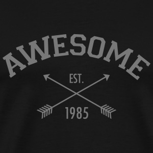 Awesome Est 1985 T-shirts - Herre premium T-shirt