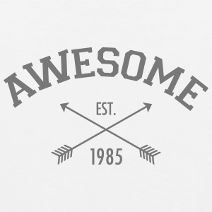 Awesome Est 1985 Tank Tops - Tank top premium hombre