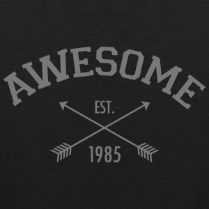 Awesome Est 1985 Tank Tops - Männer Premium Tank Top