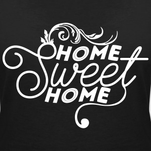 Home sweet home T-shirts - T-shirt med v-ringning dam