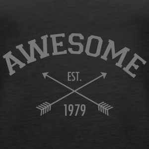 Awesome Est 1979 Top - Canotta premium da donna