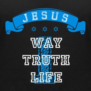 One Way Truth Life T-Shirts - Women's V-Neck T-Shirt