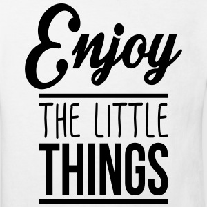 Enjoy the little things Shirts - Kids' Organic T-shirt