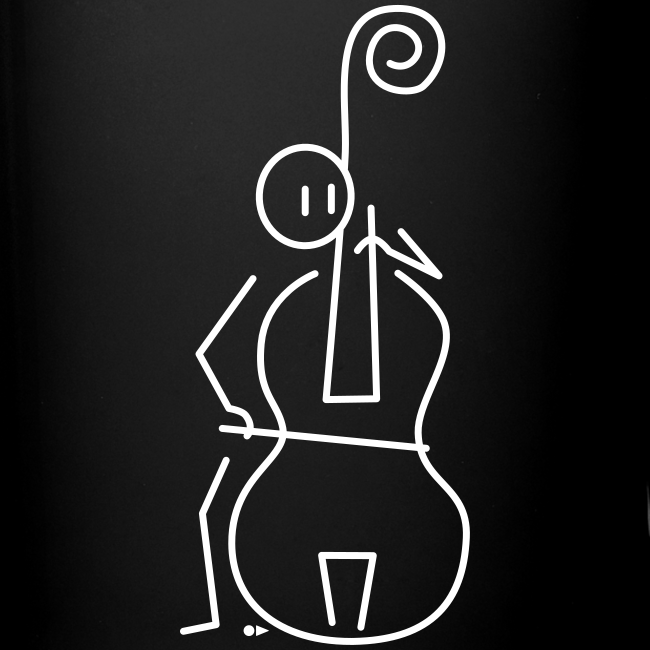 Double bassist  [double-sided]