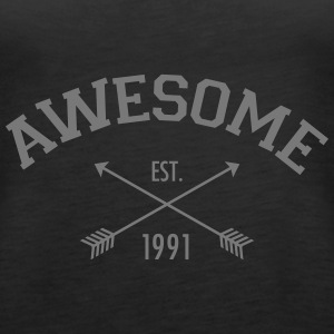 Awesome Est 1991 Top - Canotta premium da donna